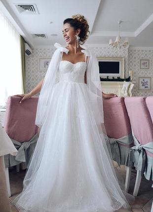 ‼️срочно‼️свадебное платье стиль бохо,рустик.весільна сукня ,boho2021