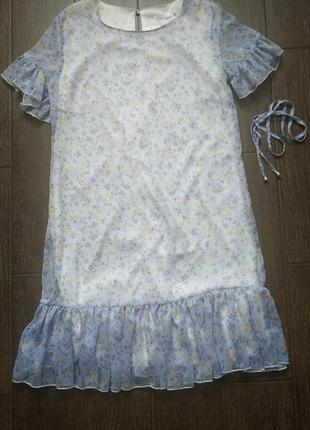 Платье легкий шыфон