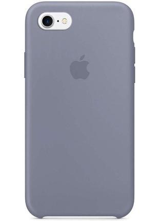 """Чехол для apple iphone 6/6s (4.7"""") (серый / lavender gray)"""