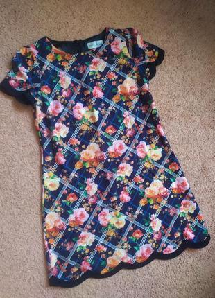 Яркое платье сарафан сукня  m
