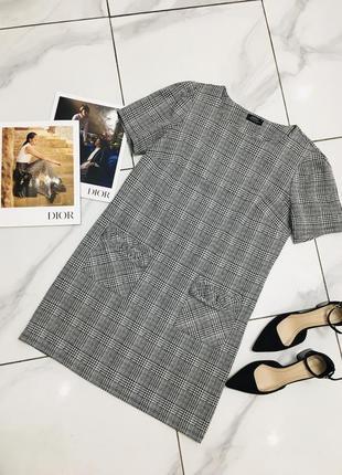 Чудесное платье в клетку с карманами от papaya collection  1+1=3 на всё 🎁