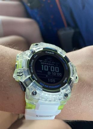 Casio g-shock gbd-h1000-7a9dr bluetooth smart часы