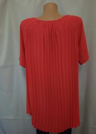 Стильная блуза с плиссированной спинкой  №6bp