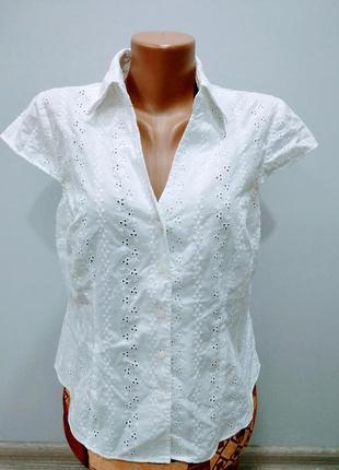 Блуза из прошвы
