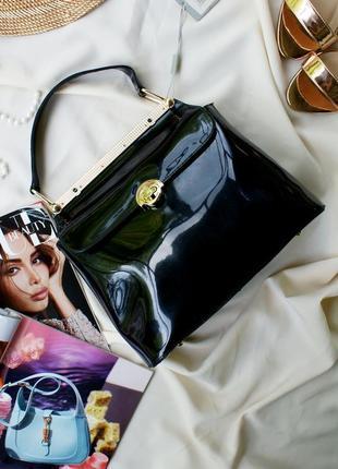 Лакована сумка сумочка люкс якість!