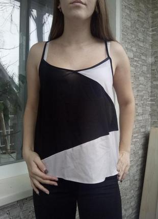 Стильная майка блуза блузка