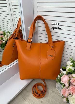 Большая сумка женская эко кожа