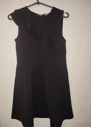 Стильное школьное платье