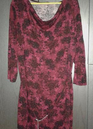 Стильное платье-туника gina benotti, размер 44/xl-xxl.
