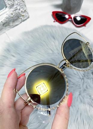 Новые круглые зеркальные очки 👓2 фото