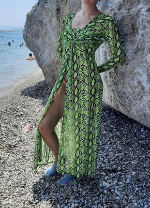 Новое пляжное платье, накидка на купальник, платье у бассейна,летняя туника-сеточка