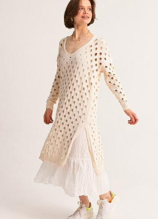 Нова сукня в стилі бохо з двох частин