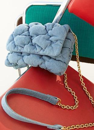 Очень красивые сумочки из денима hm (zara)