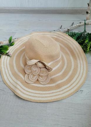 Шекарний капелюх шляпа на море пляж