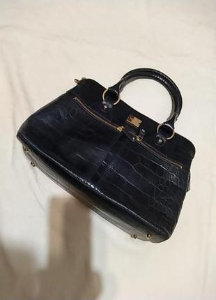 Кожаная деловая сумка modalu