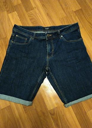 Шорты джинсовые фирменные!батал!!!