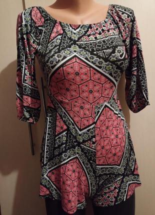 Ромпер комбинезон костюм для сна отдыха дома пижама ночная рубашка вискоза восточный этно стиль