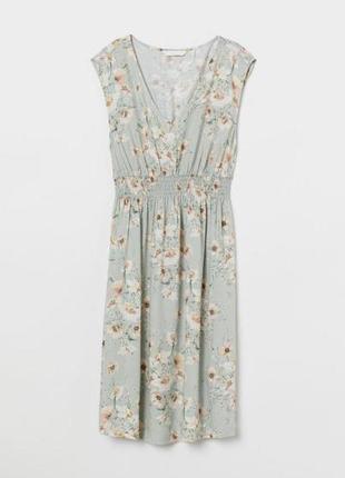 Платье с v-вырезом мама h&m 0737098002