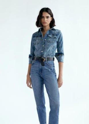 Нові джинси 👖 zara, супер зручна модель.