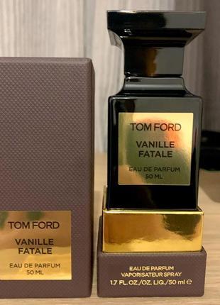 Tom ford vanille fatale оригинал_eau de parfum 3 мл затест