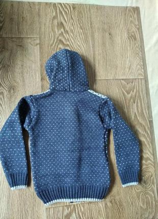 Теплый свитер на 2 - 3 года3 фото