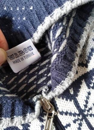 Теплый свитер на 2 - 3 года10 фото