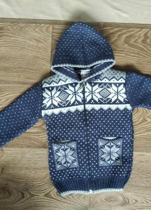 Теплый свитер на 2 - 3 года2 фото