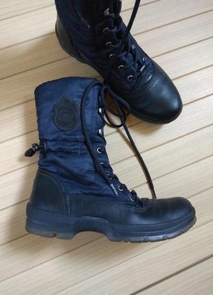Сапоги ботинки чоботи еврозима tommy hilfiger mount baker ☕ 38р/25см