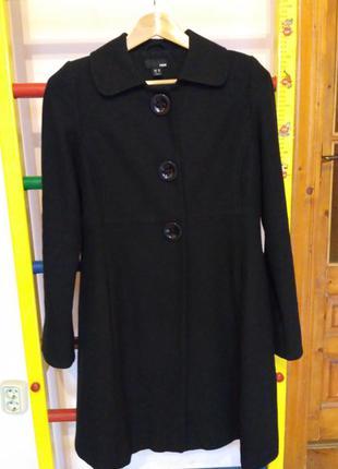 Пальто 60% шерсти