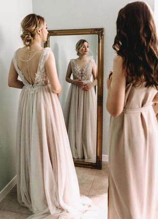 Свадебное платье от espana