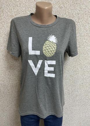 Футболка ананас