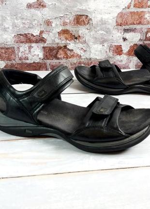 """Кожаные сандалии """"clarks"""" линия springers , англия! 40 р. 26 см."""