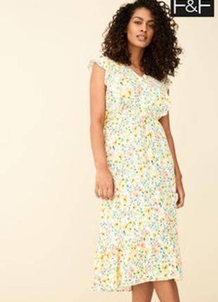 Плаття в квіточку платье сукня f&f