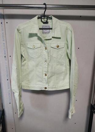 Коттоновый пиджак на рост 170/176 см