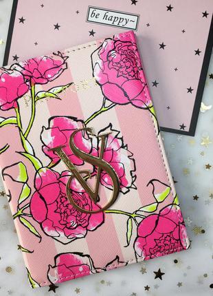 Обложка паспорт цветы