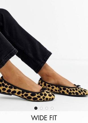 Балетки туфли asos