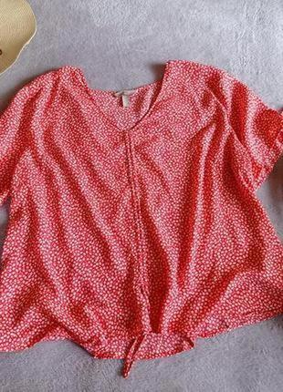 Натуральная блуза большой размер батал6 фото