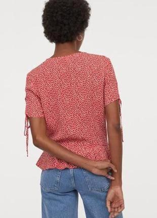 Натуральная блуза большой размер батал3 фото