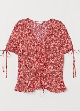 Натуральная блуза большой размер батал
