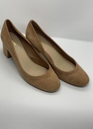Базовые туфли кожа беж