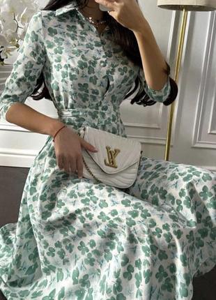 Міді плаття з квітами