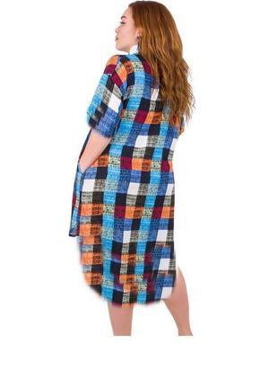 Платье 100% хлопок натуральная ткань штапель