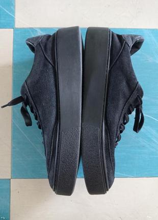 Кросівки zara замшеві чорні 39 розмір, дуже зручні кроссовки