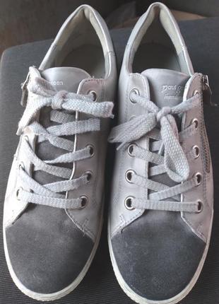 Кросівки,  кеди шкіряні