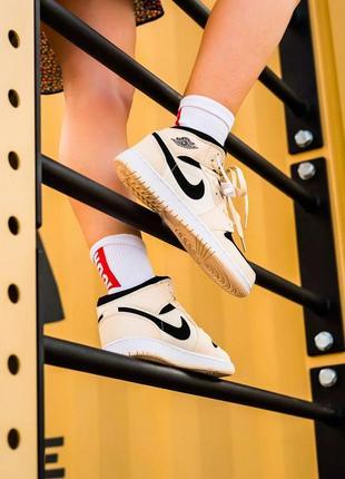 ⚡ женские кроссовки nike air jordan 1