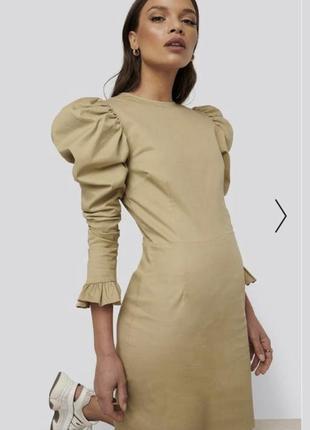 Плаття з красивими рукавами na-kd