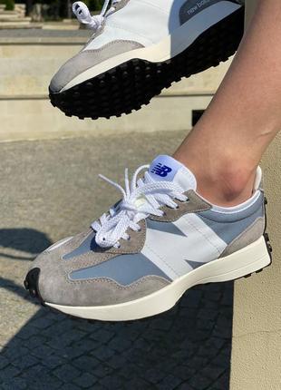 Женские кроссовки жіночі кросівки new balance 327 grey 36-41