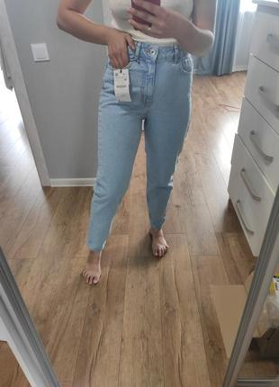 Джинси zara mom fit, розмір 36