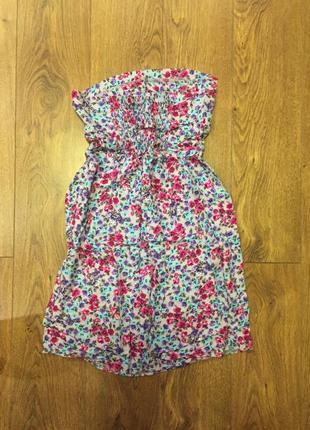 Летнее платье, сарафан  в цветочный принт