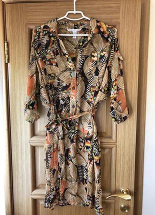 Шелковое платье diane von furstenberg оригинал